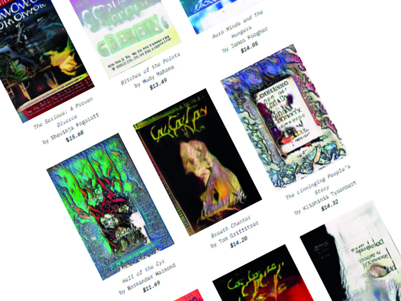 Des artistes éditent des livres via l'intelligence artificielle
