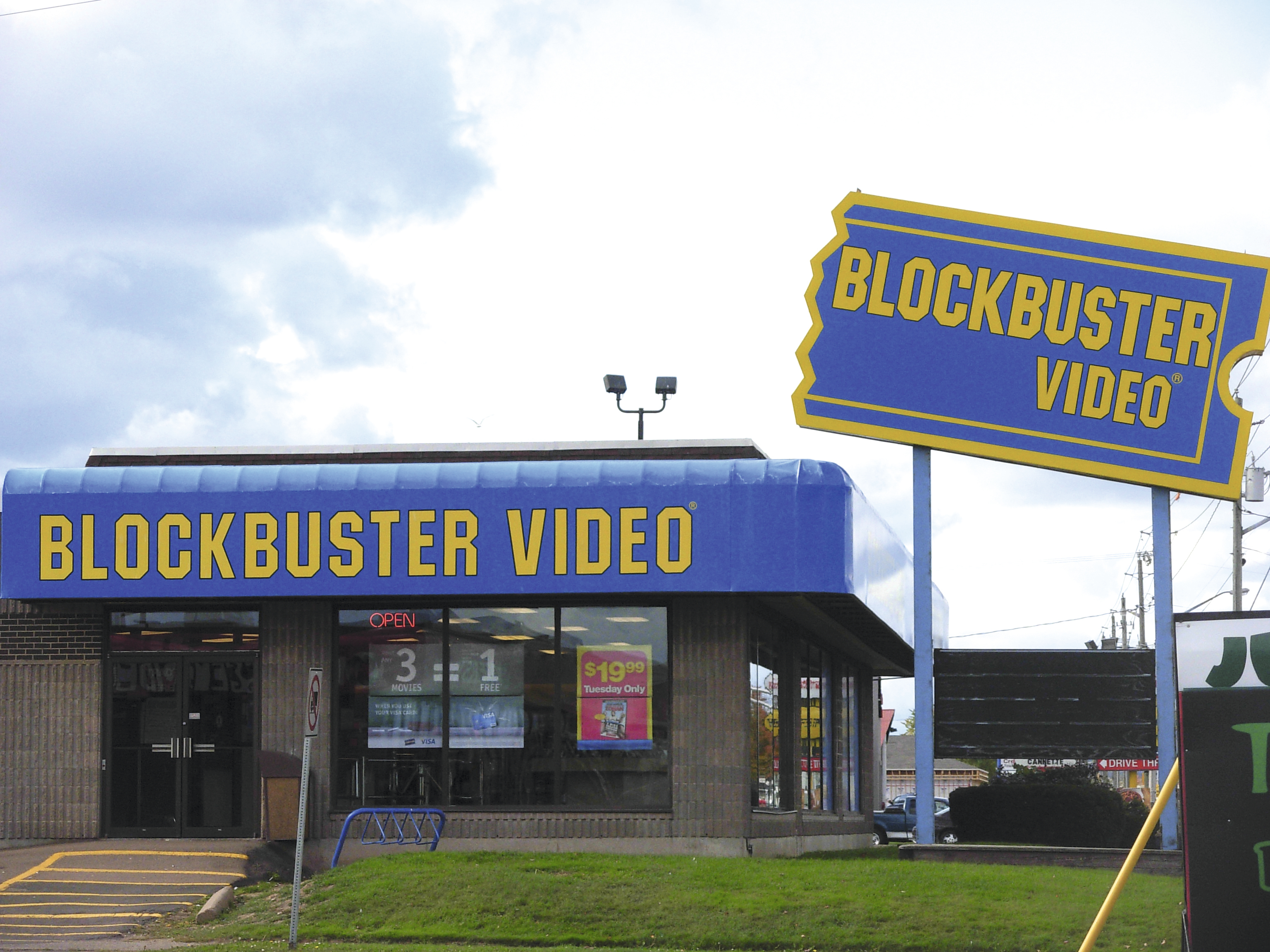 Les vidéo clubs Blockbuster auraient dûracheter Netflix pour survivre