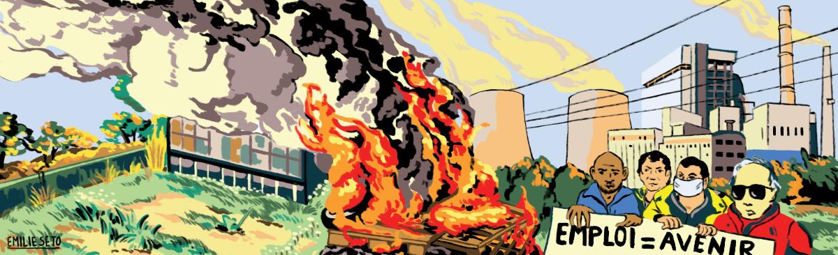 Fermeture des centrales à charbon,que faire des salariés?