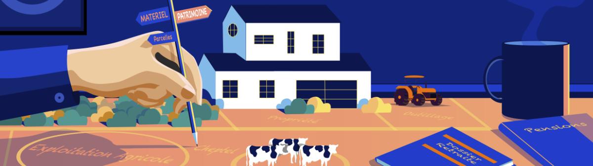 Agriculteurs, leur combat pour seconstituer une retraite décente