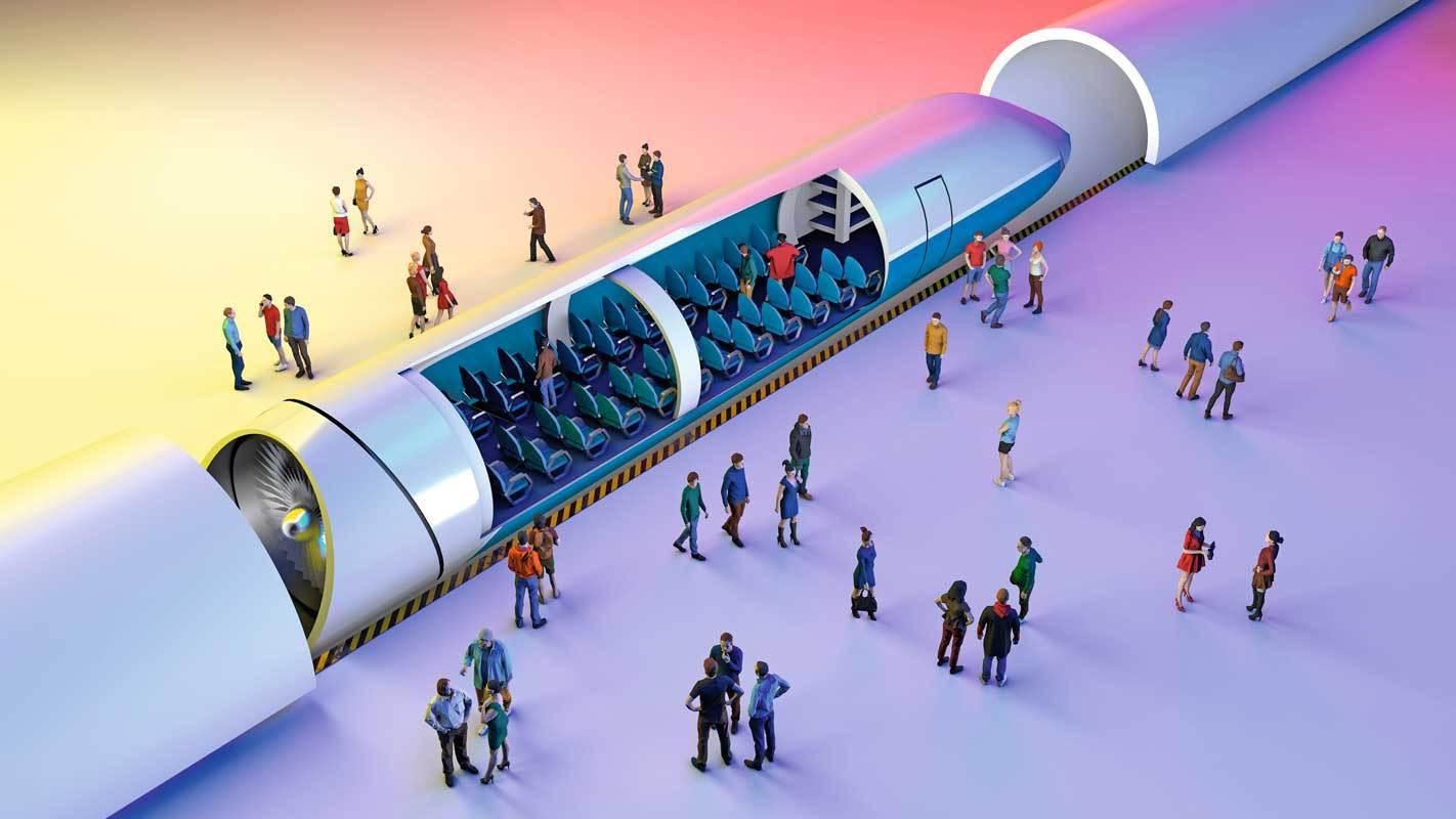 Space train, hyperloop, trainhydrogène : les trains du futur,prêts au départ