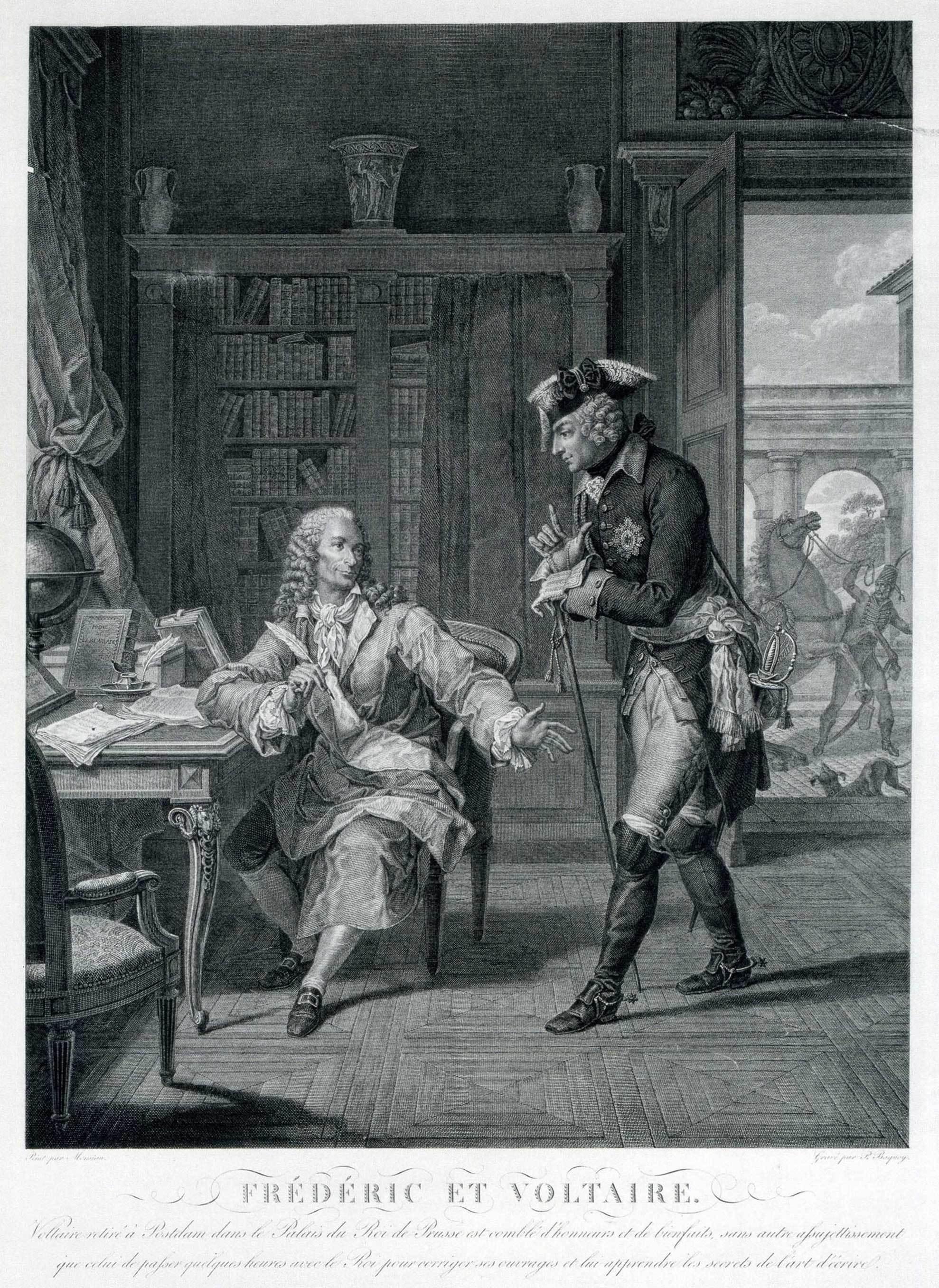 Théorie du ruissellement: Voltaire, militant décomplexé de la première heure