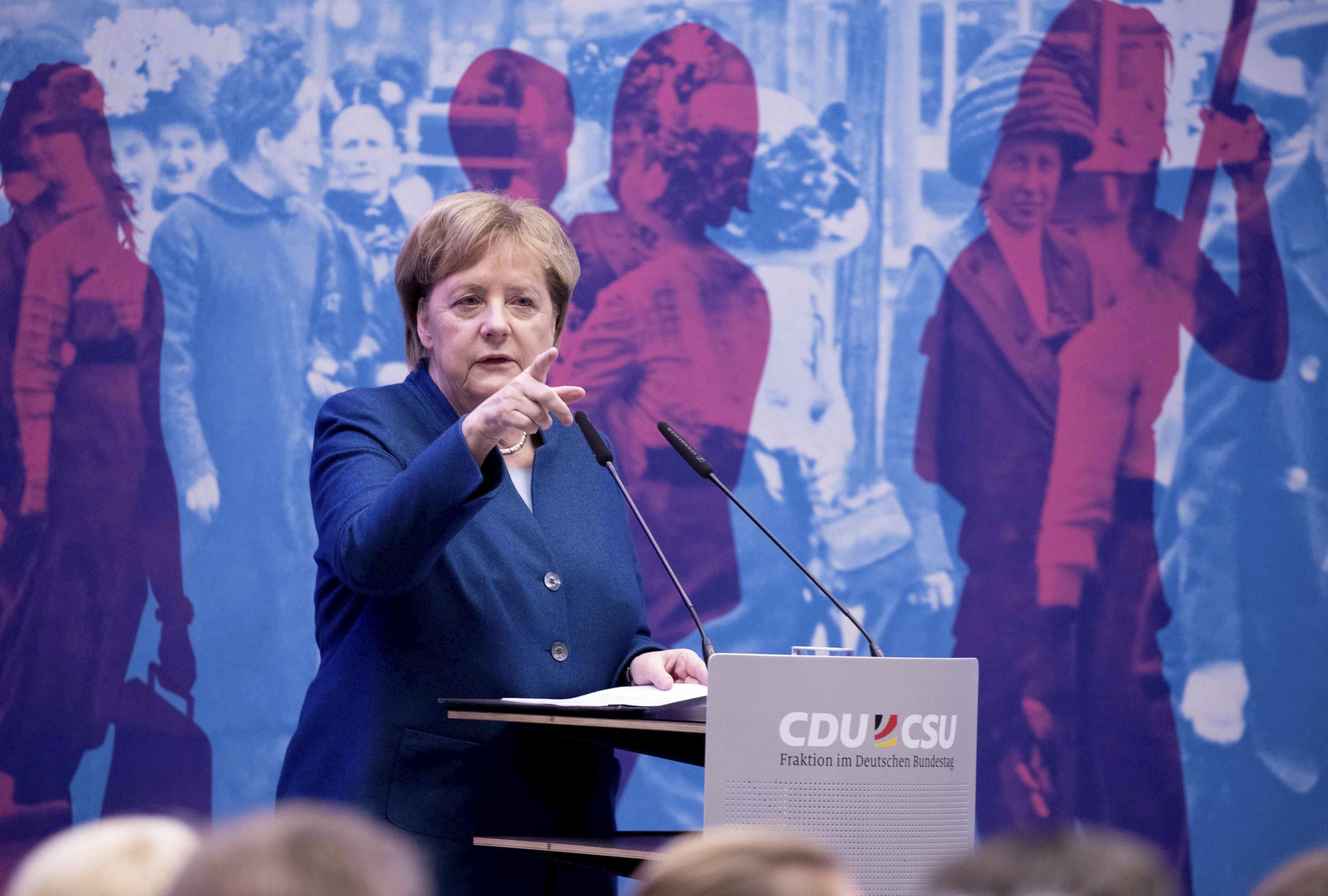 Angela Merkel: au-delà du symbole, peu d'avancées pour les femmes