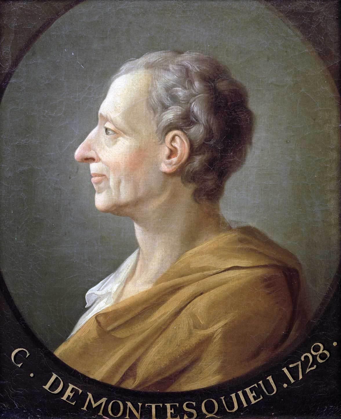 Pour Montesquieu, la vraie puissance n'est paséconomique