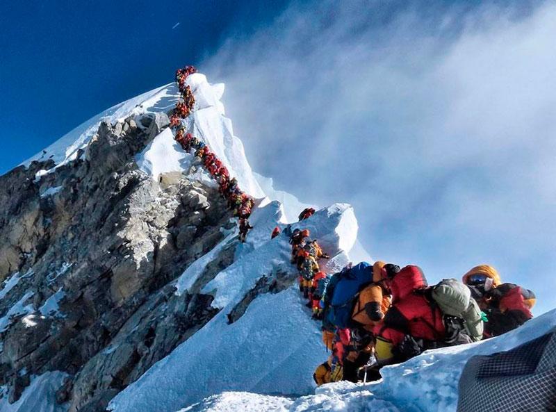 Quand la foule tue sur l'Everest