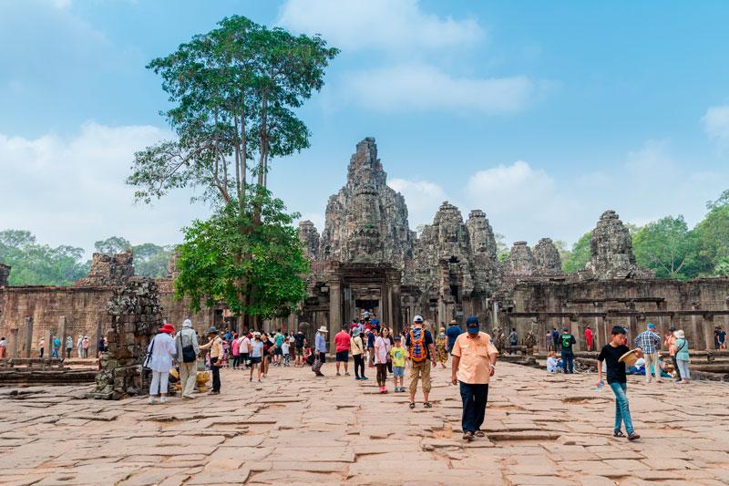 Angkor interdit les pique-niques