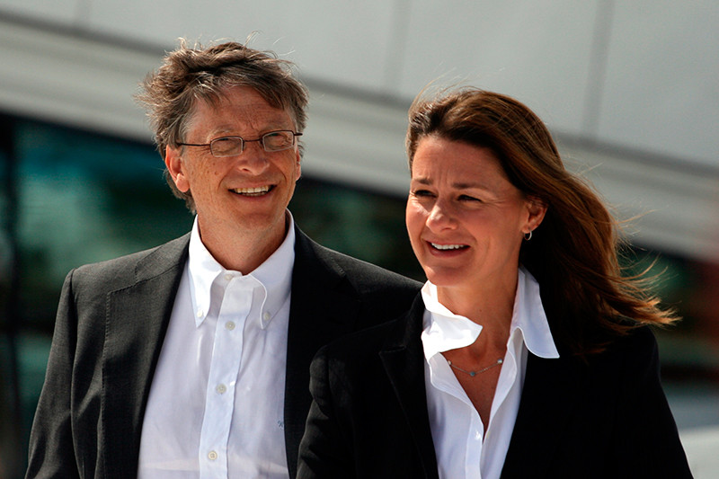 Bill et Melinda Gates