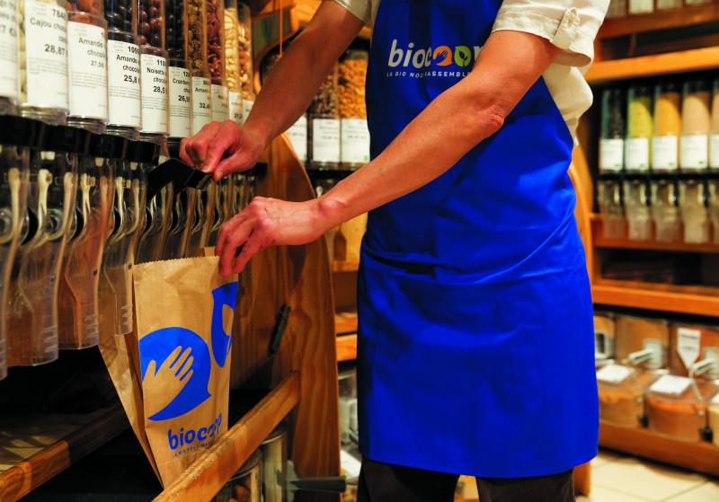 Faute d'accord de financement auprès des banques traditionnelles, le réseau de distribution Biocoop s'est tourné vers les organismes collectant l'épargne solidaire. © Biocoop