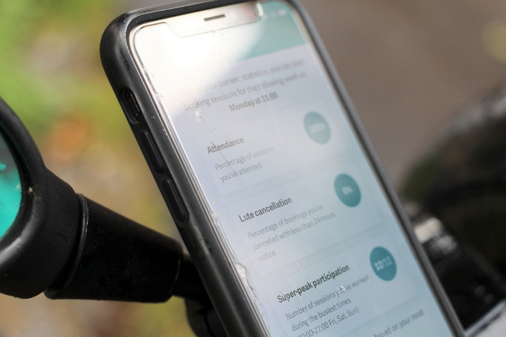L'application Deliveroo