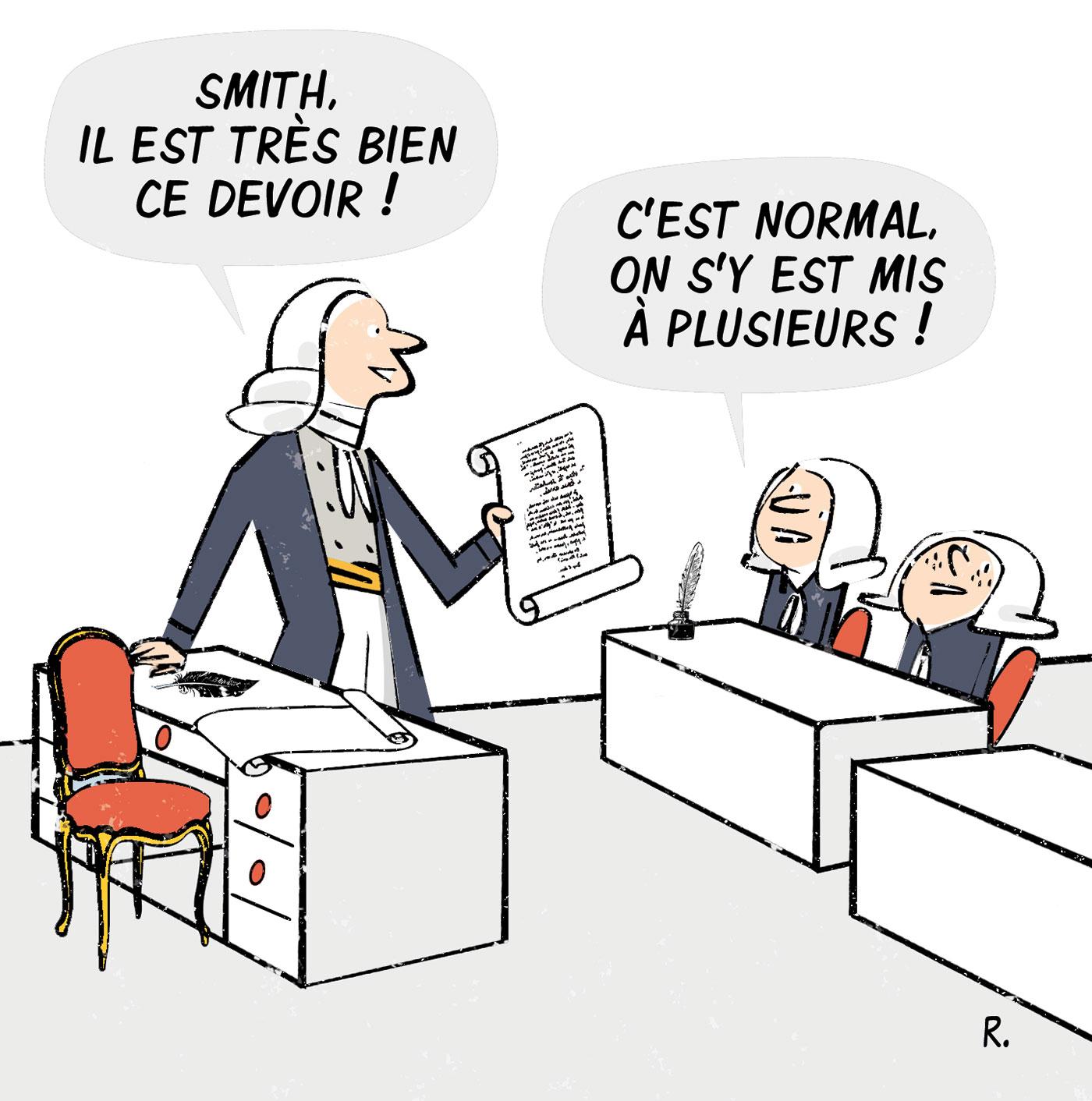 Adam Smith et la division du travail