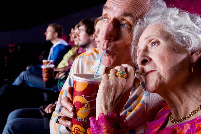 À population vieillissante, croissance descendante.