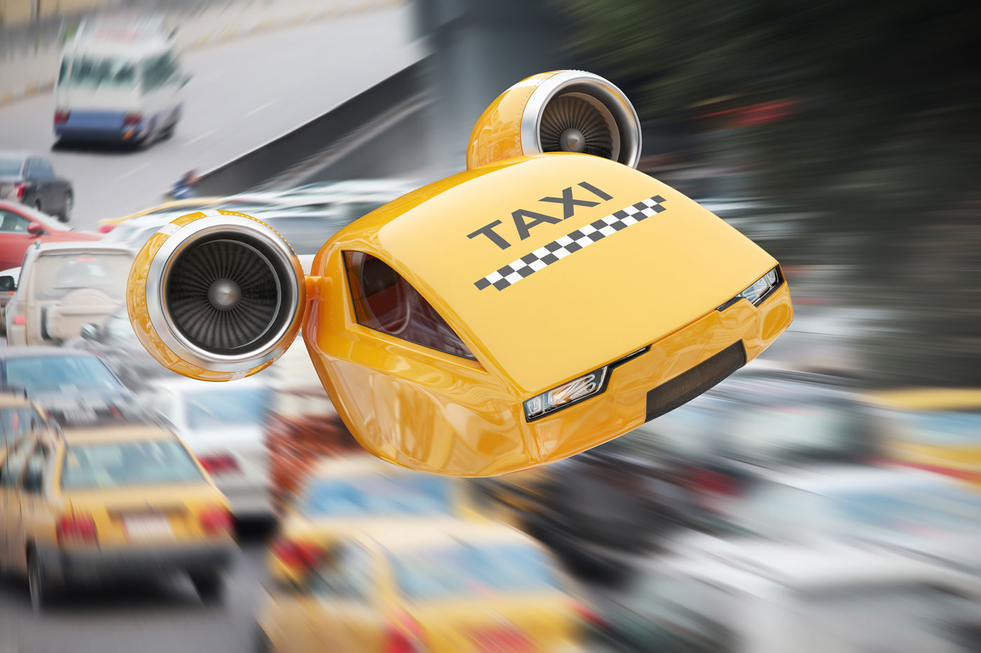 Des taxis volants en 2023