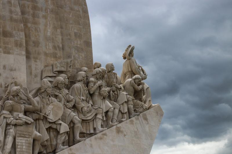 Monument pour les conquistadors, à Lisbonne.