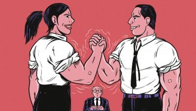 Marketing contre commercial dans l'entreprise: et si la guerreétait finie?
