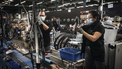 Productionde vélos : le Made in France se concentre sur le haut de gamme
