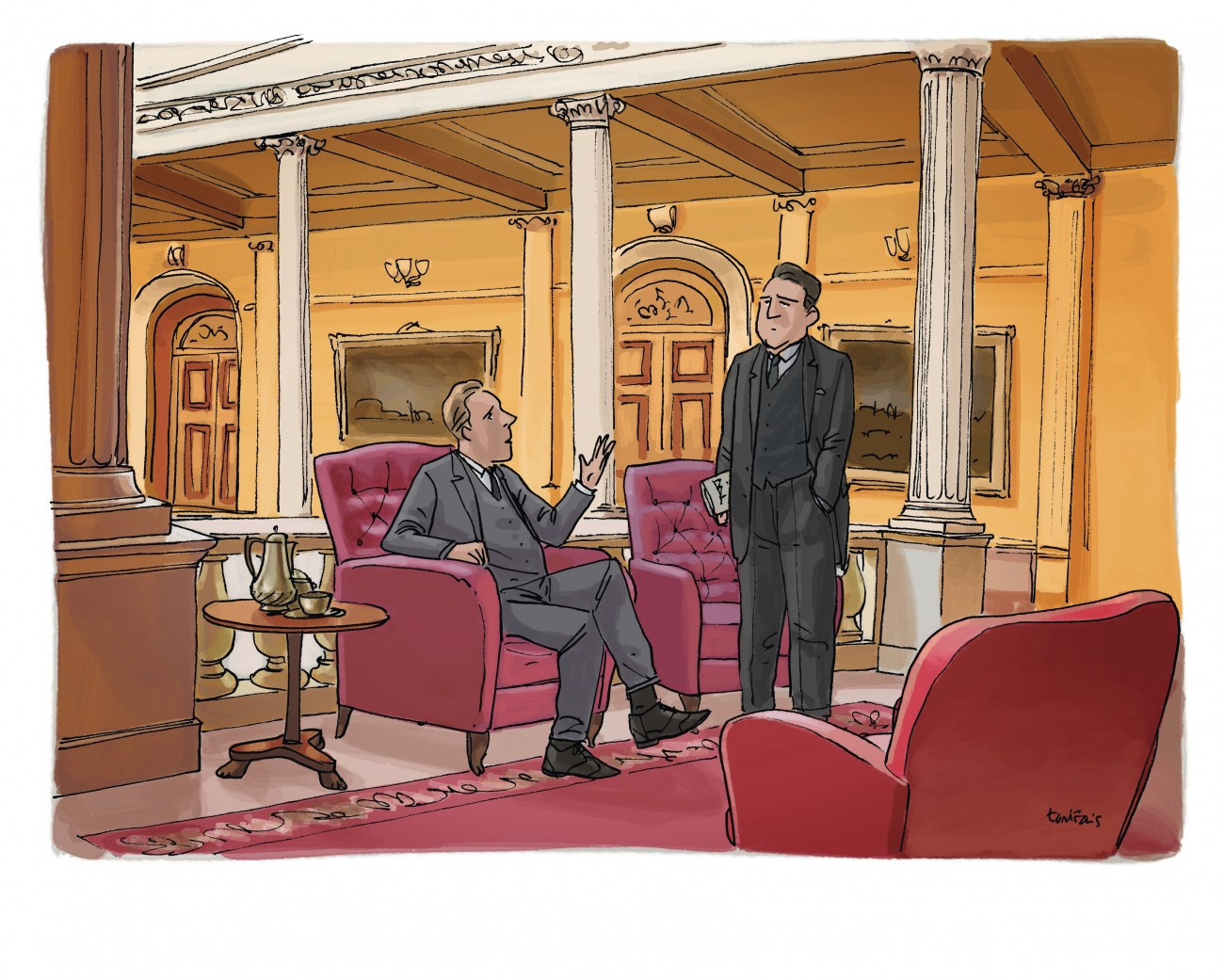 Illustration inégalités société France