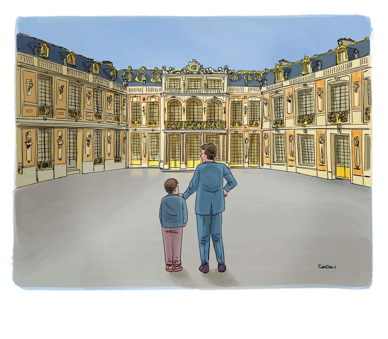 Versailles, chateau, impôts
