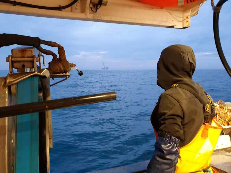 En mer, la construction d'éoliennes déplait fortement aux pêcheurs