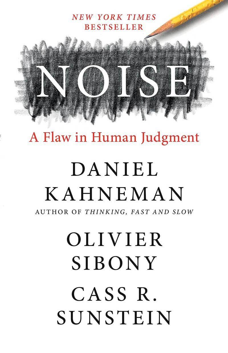 Couverture livre Noise, a Flaw in Human Jugement