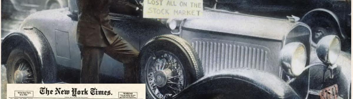 1929, 2007, 20.. Les leçons non retenues des crises