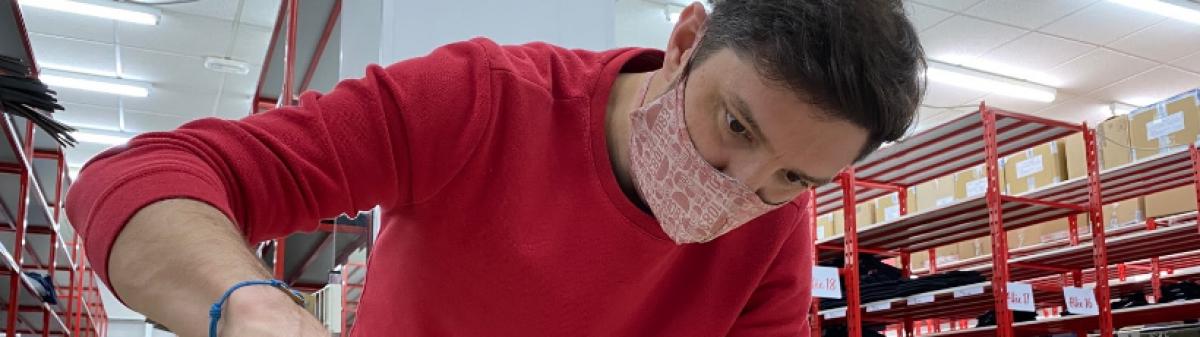 Coronavirus : les résistants du textile au chevet de la crise sanitaire