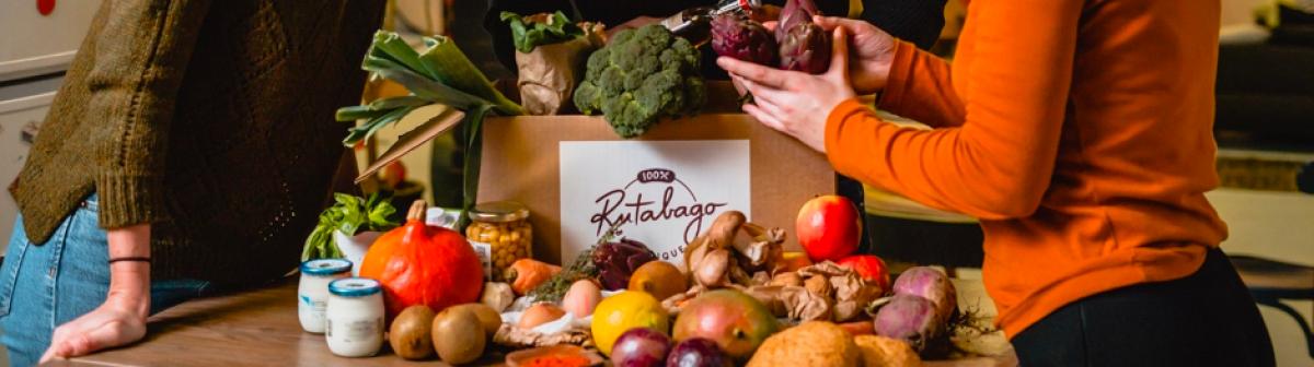 Rutabago, livraison de paniers-repas prêts à cuisiner 100% bio