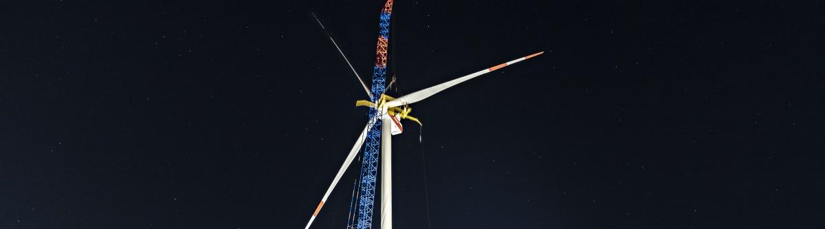Construire et démanteler des éoliennes, un vrai défi environnemental